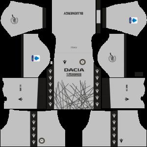 Dream League Soccer DLS 512×512 Udinese Calcio GoalKeeper Third Kits