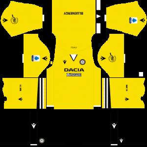 Dream League Soccer DLS 512×512 Udinese Calcio Third Kits