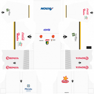 Dream League Soccer DLS 512×512 Venados FC Away Kits