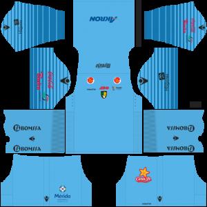 Dream League Soccer DLS 512×512 Venados FC GoalKeeper Home Kits