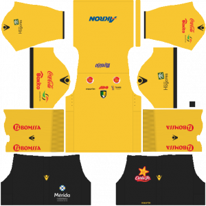 Dream League Soccer DLS 512×512 Venados FC Home Kits