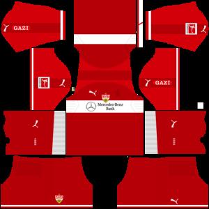 Dream League Soccer DLS 512×512 VfB Stuttgart Away Kits
