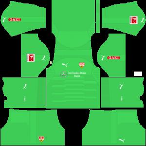 Dream League Soccer DLS 512×512 VfB Stuttgart GoalKeeper Away Kits