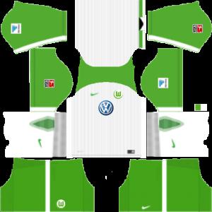 Dream League Soccer DLS 512×512 VfL Wolfsburg Away Kits