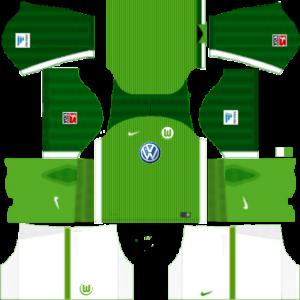Dream League Soccer DLS 512×512 VfL Wolfsburg Home Kits