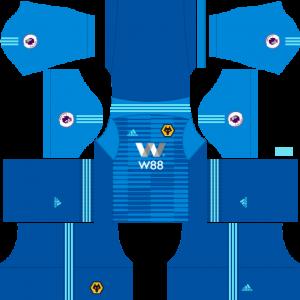 Dream-League-Soccer-DLS-512×512-Wolverhampton-Wanderers-FC-GoalKeeper-Away-Kits